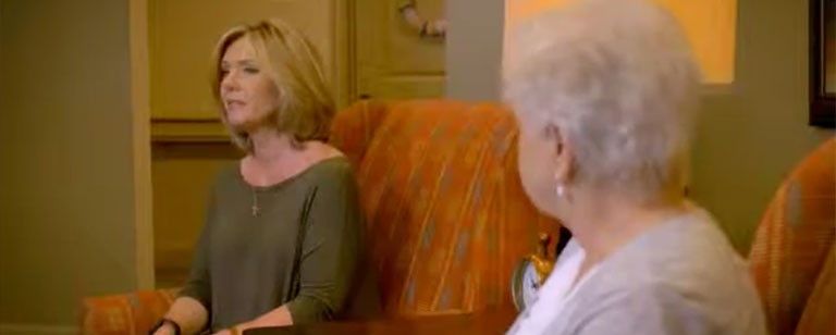 Image of Melanie & Cliffine happily transitioned to assisted living